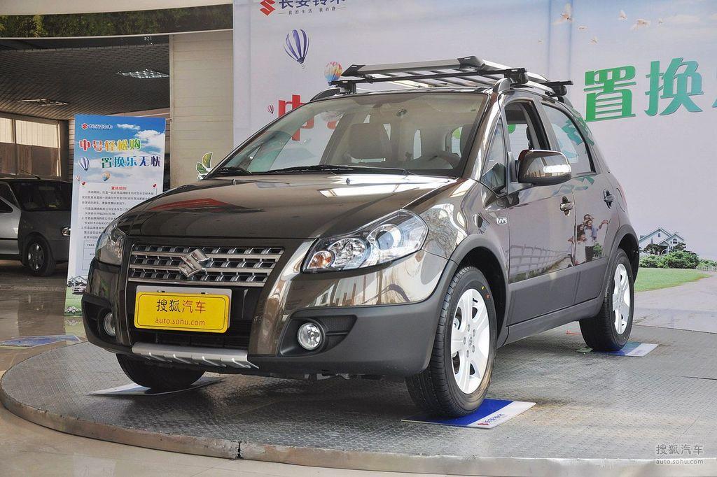2012款长安铃木天语sx4锐骑 1.6l自动运动型   车前45°
