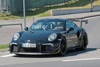 最强型号 疑似全新保时捷911 GT2 RS谍照