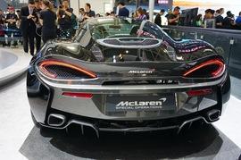 迈凯伦570GT 北京车展实拍