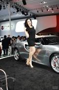2011广州车展阿尔法罗密欧1号车模