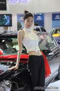 2009大连国际车展美女车模