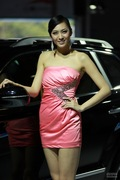 2011广州车展华泰1号车模