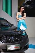 2011广州车展一汽1号车模