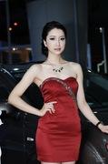2011广州车展三菱2号车模