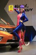 2013成都车展陆风车模