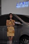 2013成都车展上汽集团车模