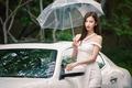 山东富家女身材姣好 容貌气质兼具