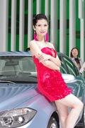 中华7号车模 2013上海车展实拍