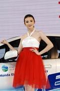 2011广州车展本田7号车模