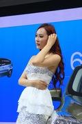 2013青岛国际车展车模风采-福特车模1