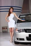 2011广州车展一汽3号车模