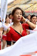 波涛汹涌性感无限 韩国宝贝抢镜CTCC上海站