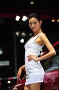 2011广州车展雪铁龙7号车模