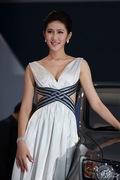 2011广州车展长安2号车模