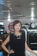 2011年长春车展模特