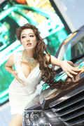 2013天津国际车展美女高清图
