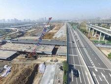 合肥长江西路上跨创新大道桥 十一前放行