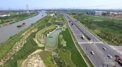 新锡澄路绿化景观工程全线完工
