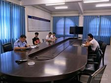 渤海大队组织召开重点危险品企业约谈会!