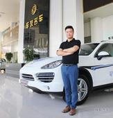 访车友名车刘友平:价廉物美是我们的优势