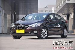 [绍兴]起亚K3降6000元 店内少量现车销售