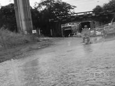 """合肥双凤大道""""酒窝路"""" 下雨天注意绕行"""