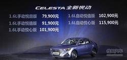 北京现代全新悦动广州上市 售7.99万-11.59万