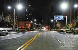 西安市城北开元路断头六年 提前两日通车