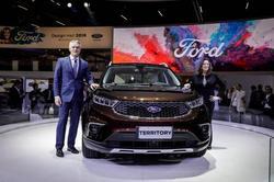 福特Territory(领界)开启全球之旅 首发亮相巴西圣保罗国际车展