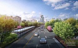 南一环五里墩至巢湖南路将启动慢行系统改造