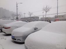 唐山迎来首次降雪雪量达7.9毫米注意慢行