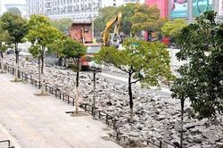 合肥站前路(站西路~全椒路)将放行南半幅