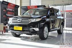 丰田汉兰达购车优惠1.9万元 店内有现车!