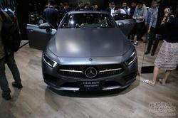 现场直击北京车展:全新奔驰CLS国内首发