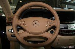 奔驰S级S 350L 豪华型方向盘图片