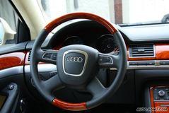 奥迪A8L6.0L quattro 至尊旗舰型方向盘图片