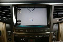 雷克萨斯LX570中控台图片