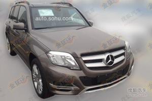 奔驰GLK 260 4MATIC动感型上市 售39.8万