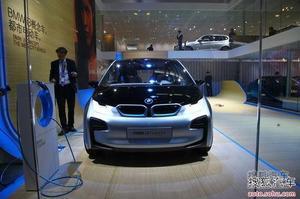 宝马i3/i8北京车展亮相 新能源i品牌引入