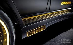 纯金色调 HAMANN改奔驰G65 AMG Spyridon