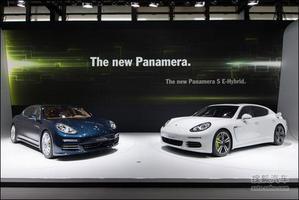 保时捷新款Panamera车展首发 轴距获加长