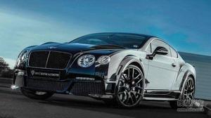 宾利欧陆GT改装 600马力双涡轮增压引擎!