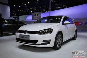 高尔夫7车展首发 12月20日上市/售12万起