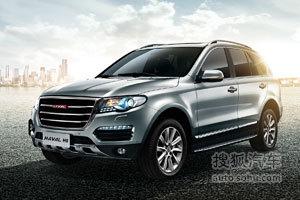 广州车展实拍哈弗H8自主SUV 剑指新胜达