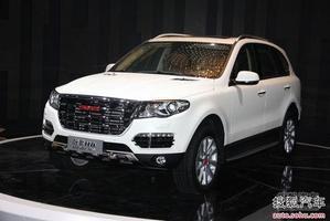 哈弗H8或11月20日上市 6款车售15.58万起