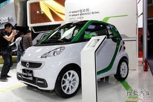 smart电动版广州车展正式上市 售23.5万