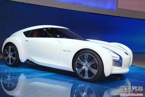 日产ESFLOW亮相北京车展 后驱纯电动跑车