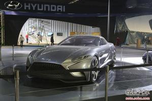 现代HND-9概念车国内首发 全新酷派雏形