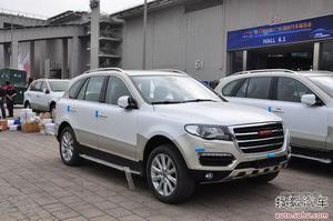 2013广州车展探营:哈弗H8搭载6AT变速箱