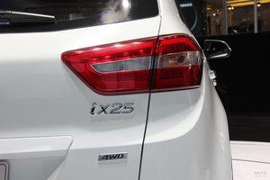 现代ix25 成都车展实拍